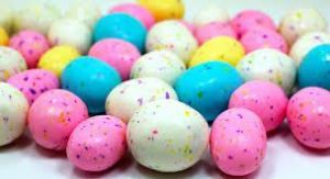 garish malted milk eggs