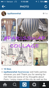 paris swap collage